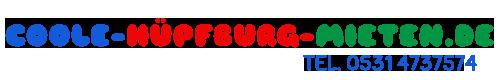 Coole Hüpfburg mieten | Mit günstigem Liefer- und Aufbauservice